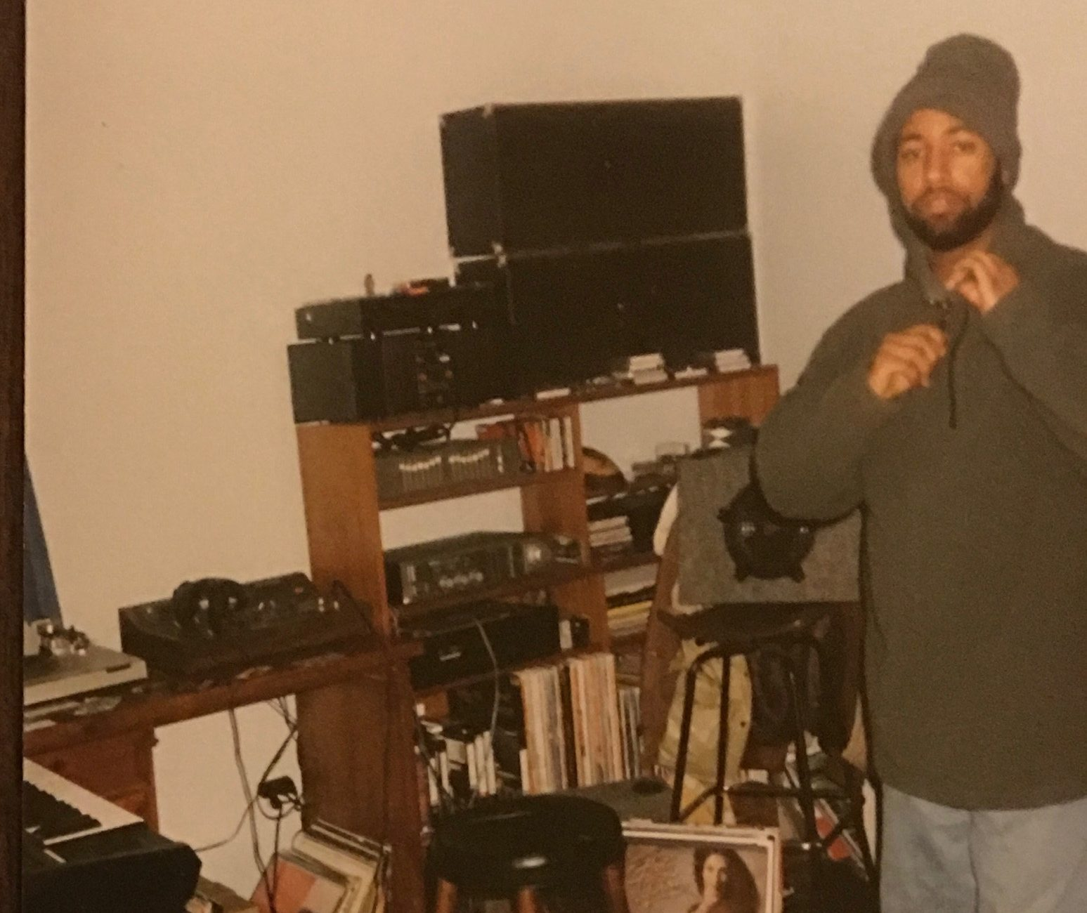 1990 Studio set up.